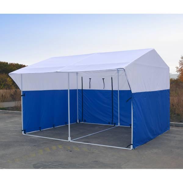 """Палатка торговая 4x3 """"ярмарка"""""""